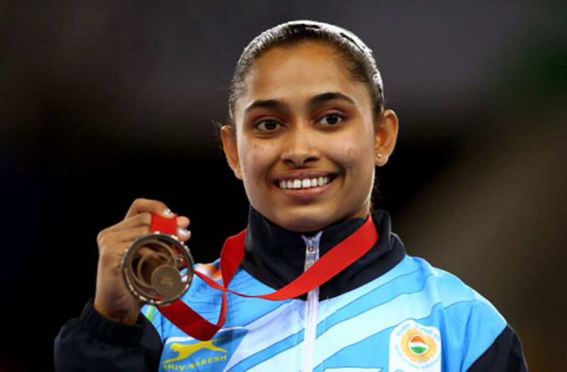 Dipa Karmakar. GettyImages