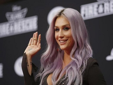 "Recording artists Kesha arrives to the premiere of ""Planes: Fire & Rescue"" at the El Capitan Theater in the Hollywood section of Los Angeles, California, July 15, 2014.  REUTERS/David McNew/Files"