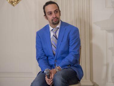 Lin-Manuel Miranda, creator and star of the Broadway show, 'Hamilton.' AFP