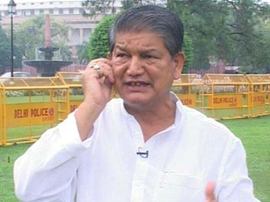 A file photo of Harish Rawat. IBN Live