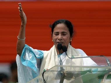 Mamata Banerjee in a file photo. AFP