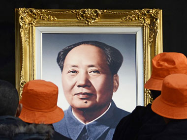 Chinese leader Mao Zedong. AFP