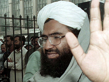 A file photo of Masood Azhar. AFP