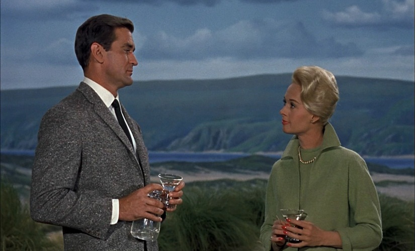 Rod Taylor and Tippi Hedren in 'The Birds'