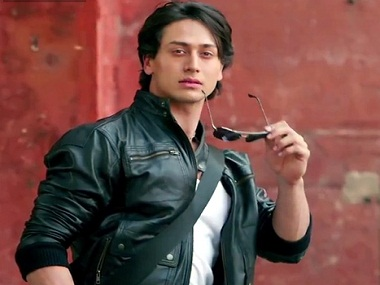 Tiger Shroff. Image from IBNlive