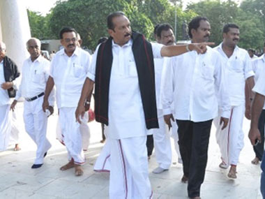MDMK chief Vaiko. Firstpost