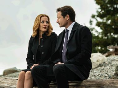 Gillian Anderson and David Duchovny in 'The X-Files'. Image courtesy: Facebook