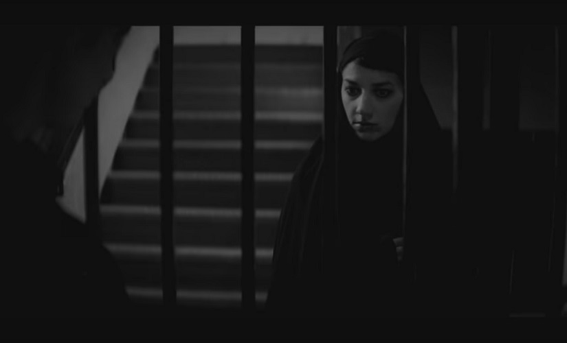 A still from A Girl Walks Alone At Night. Screengrab from YouTube