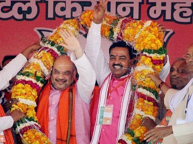 'Urge people to uproot SP and BSP', says Amit Shah in UP