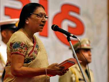 BJP assumed power at Centre due to Narendra Modis ability to pick committed workers says Anandiben Patel