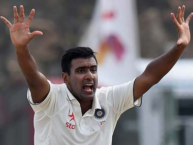 File photo of Ravichandran Ashwin. AFP