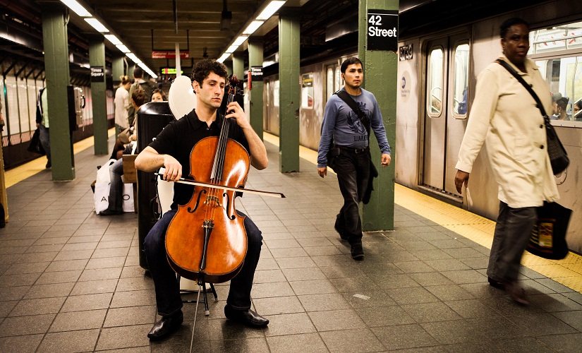 Bach in the Subways Dale Henderson inspired a global movement to make music accessible