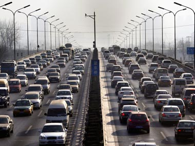 Beijing to adopt the world's strictest vehicle emissions standard from December 2017