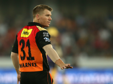 Sunrisers Hyderabad captain David Warner. Sportzpics/IPL