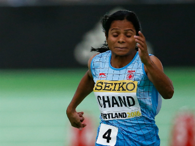 Domination continues: Dutee Chand bags gold in Indian Grand Prix 100m dash