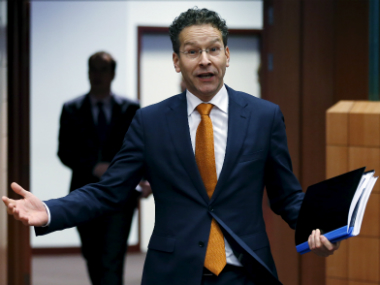 Greek bailout without IMF 'not an option', says Eurogroup head Dijsselbloem