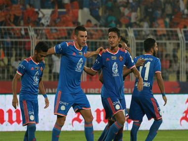 File photo of the FC Goa players. News18