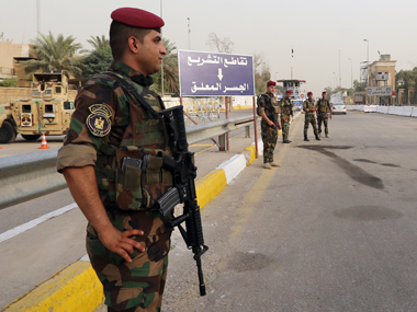 Iraqi protesters break into fortified area, enter Green Zone in Baghdad