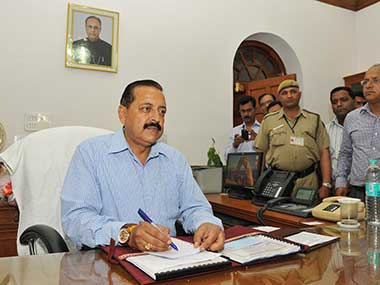 Pakistans role in Jammu and Kashmir violence stands exposed Jitendra Singh