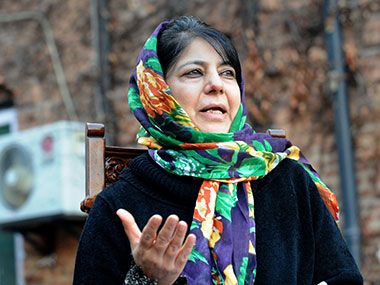 Will step down if chair becomes impediment in father's vision, says CM Mehbooba Mufti