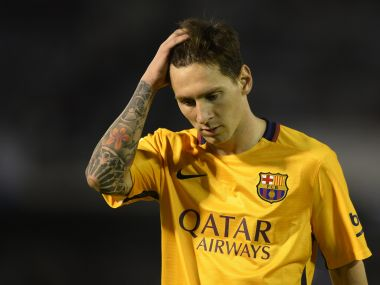 File photo of Lionel Messi. AFP
