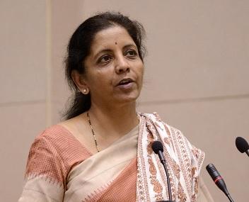 Commerce Minister Nirmala Sitharaman. AFP.