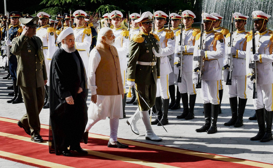 A historical rendezvous: PM Narendra Modi meets Hassan Rouhani in Iran