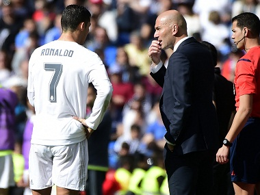 'We've always been behind Zidane': Ronaldo praises Real Madrid boss after City win