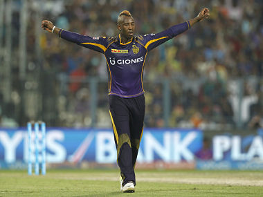 IPL 9: Superman Russell stars as KKR edge KXIP to go top