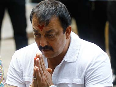 Actor Sanjay Dutt. Reuters