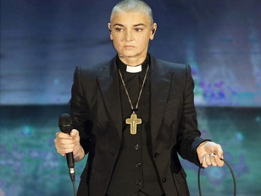 Sinéad O'Connor. Image from AP