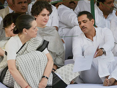 Dear BJP if Robert Vadra is guilty why isnt he behind bars