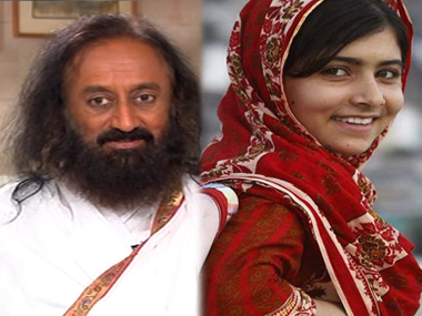 Sri Sris remarks against Malala show the ugly face of a godmans desire for power