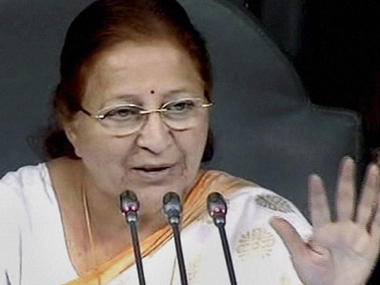 Congress asks Speaker Sumitra Mahajan to reconsider travelling in new expensive car