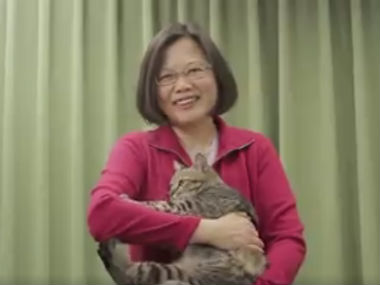 Tsai ing-wen is not a 'crazy cat lady': Taiwan's first woman president is single, strong