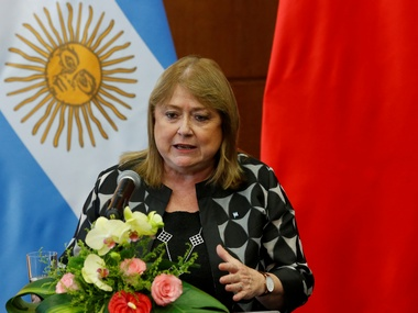 Argentina's Susana Malcorra makes belated bid for UNSG post