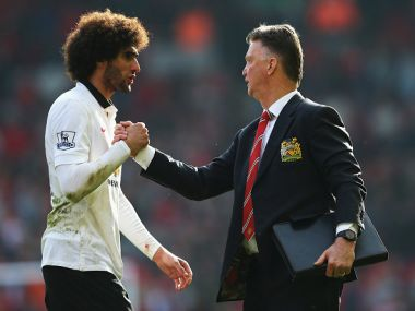 Louis van Gaal warns Marouane Fellaini to control himself after three-game ban