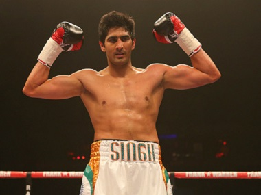 Vijender pounds Matiouze Royer for fifth successive knock-out win