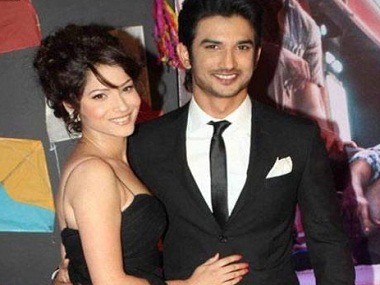 Ankita Lokhande with Sushant Singh Rajput. Image from IBNlive