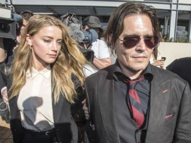Amber Heard reportedly admits to hitting former husband Johnny Depp in leaked audio tapes