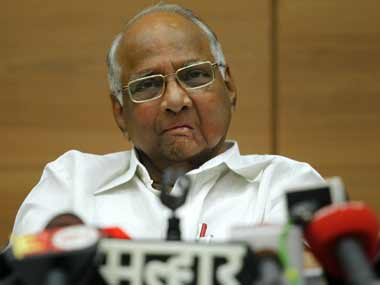 NCP chief Sharad Pawar. File photo. Reuters