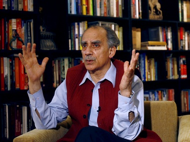 File photo of Arun Shourie. Reuters