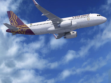 Bird hits Bhubaneswar-bound Vistara flight, all passengers safe