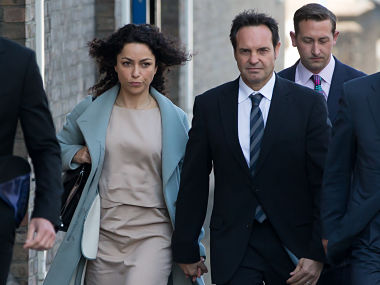 Eva Carneiro arrivs at Croydon Employment Tribunal. AFP