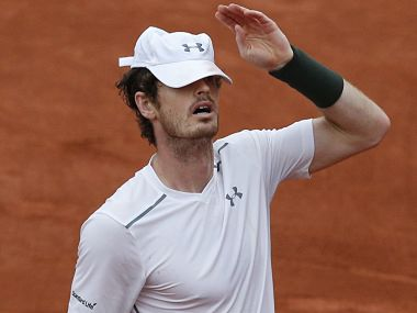 Andy Murray vows to bounce back. AP