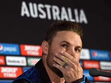 File image of Brendon McCullum. AFP