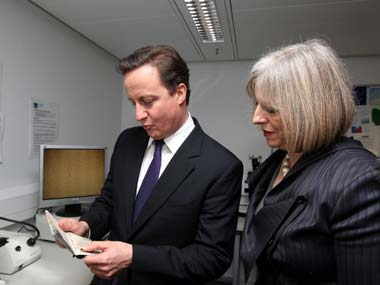 UK PM David Cameron. Reuters
