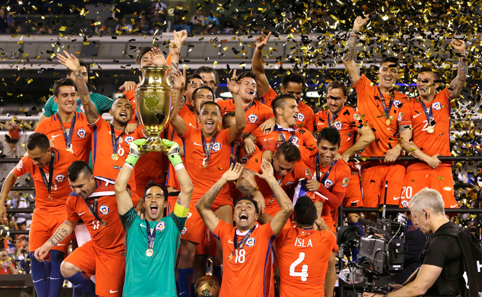 In pics: Chile beat Argentina again, defend Copa America championship