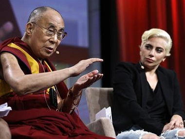 After tête-à-tête with Dalai Lama, Lady Gaga reportedly 'banned' in China