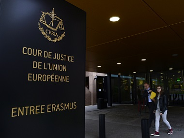 The European Court of Justice in Luxembourg. AFP